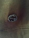 gucci logo blouse