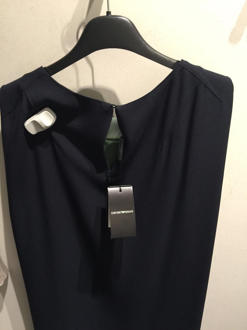 emporio dress back