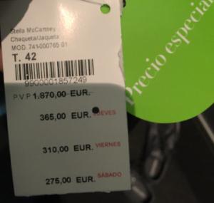 stella jacket price